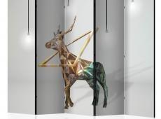 Paraván - deer (3D) II [Room Dividers]